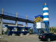 Стационарный бетонный завод«Changli» HZS 35 Таджикистан